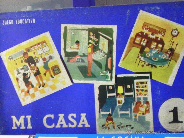 ANTIGUO JUEGO DE MESA -MI CASA- (Juguetes - Juegos - Juegos de Mesa)