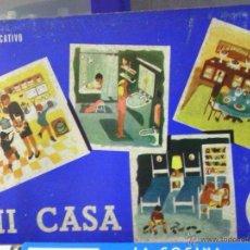 Juegos de mesa: ANTIGUO JUEGO DE MESA -MI CASA-. Lote 42809052