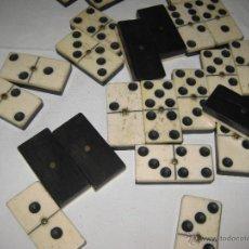 Juegos de mesa: ANTIGUO JUEGO DE DOMINO. 28 FICHAS. Lote 42859826
