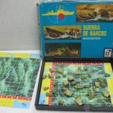 Juegos de mesa: CHICOS - GUERRA DE BARCOS MAGNÉTICO JUEGO DE MESA. Lote 42861686