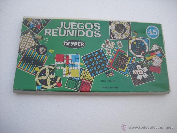 Juegos Reunidos Geyper Tablero De Juego Antiguo Comprar Juegos De