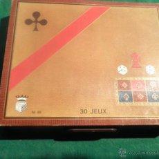 Juegos de mesa: JUEGO DE MESA GARNIER CORNIL - MADE IN FRANCE - 30 JUEGOS. Lote 42906498
