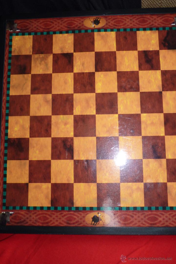 Juegos de mesa: TOROS, AJEDREZ TAURINO, CON TODAS LAS FIGURAS Y COSOS - Foto 3 - 42914031