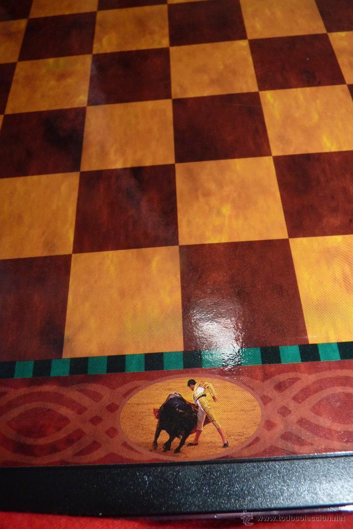 Juegos de mesa: TOROS, AJEDREZ TAURINO, CON TODAS LAS FIGURAS Y COSOS - Foto 4 - 42914031
