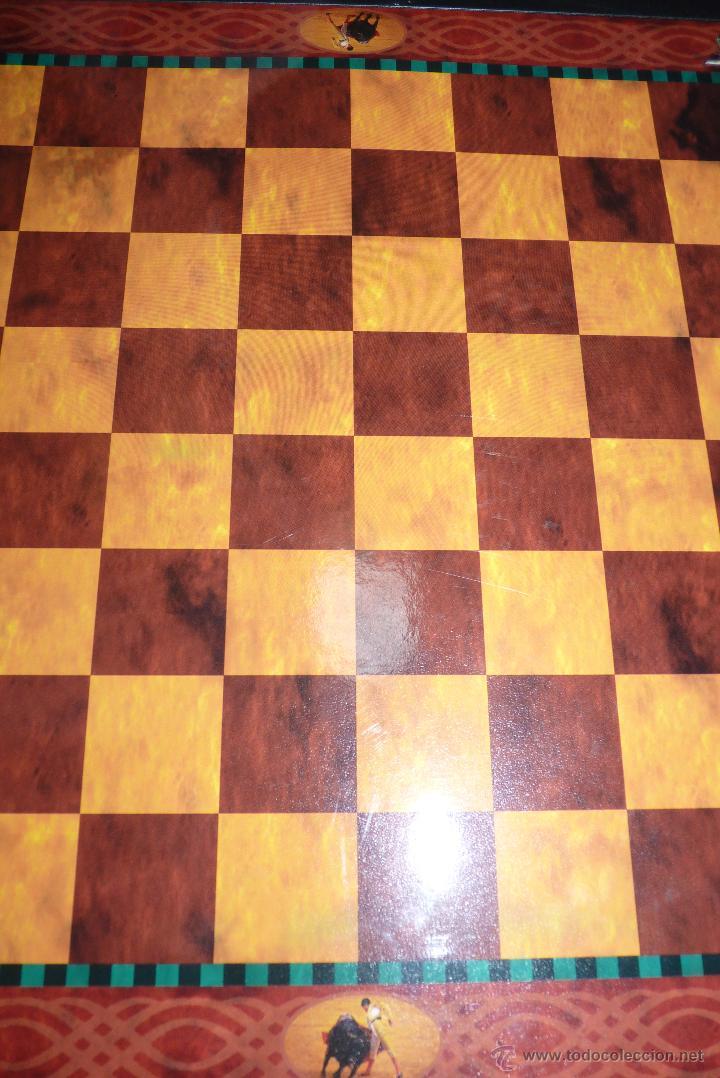 Juegos de mesa: TOROS, AJEDREZ TAURINO, CON TODAS LAS FIGURAS Y COSOS - Foto 5 - 42914031