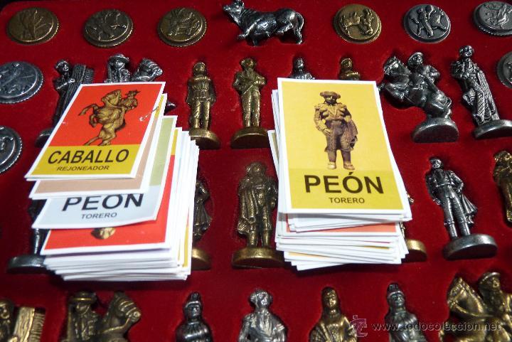 Juegos de mesa: TOROS, AJEDREZ TAURINO, CON TODAS LAS FIGURAS Y COSOS - Foto 6 - 42914031