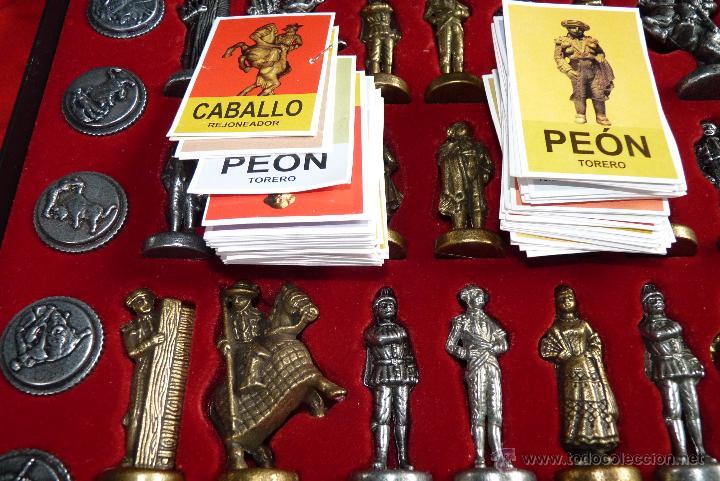 Juegos de mesa: TOROS, AJEDREZ TAURINO, CON TODAS LAS FIGURAS Y COSOS - Foto 7 - 42914031
