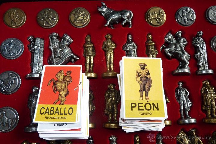 Juegos de mesa: TOROS, AJEDREZ TAURINO, CON TODAS LAS FIGURAS Y COSOS - Foto 8 - 42914031