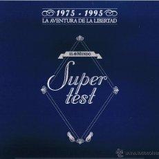 Juegos de mesa - JUEGO DE MESA SUPER TEST - EL MUNDO - LA AVENTURA DE LA LIBERTAD - 1975-1995 - - 42926577
