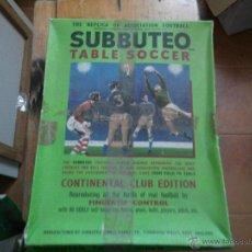 Juegos de mesa: ANTIGUO SUBBUTEO TABLE SOCCER UNICO EN TODOCOLECCION. Lote 42931368