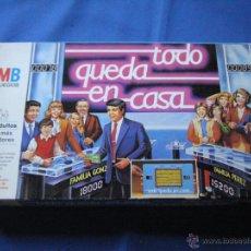 Juegos de mesa: JUEGO DE MESA - TODO QUEDA EN CASA - MB. Lote 50194939