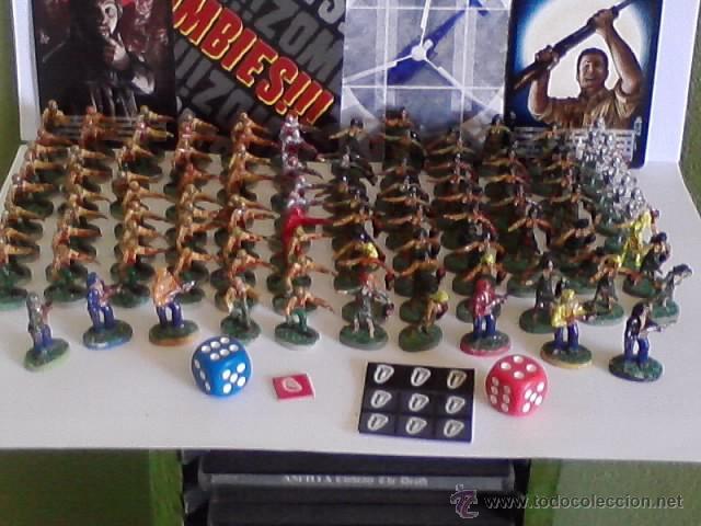Zombies 1 Juego De Mesa Figuras Pintadas Y Comprar Juegos De