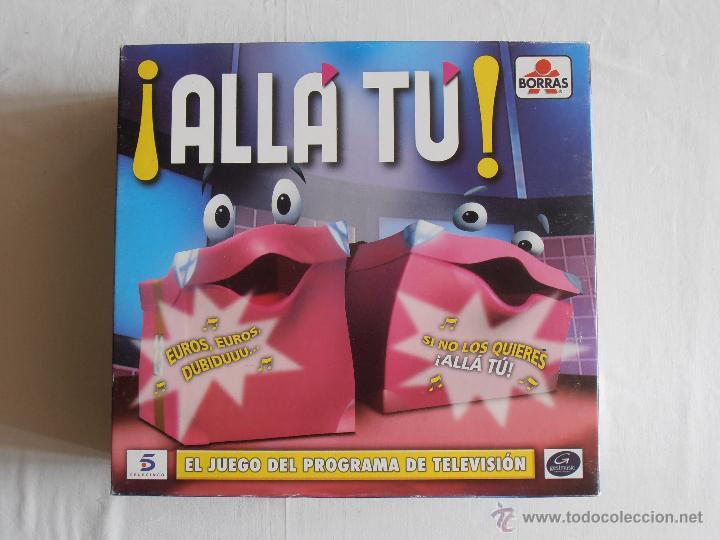 JUEGO ALLA TU BORRAS BASADO EN EL PROGRAMA DE TV TELECINCO COMPLETO (Juguetes - Juegos - Juegos de Mesa)