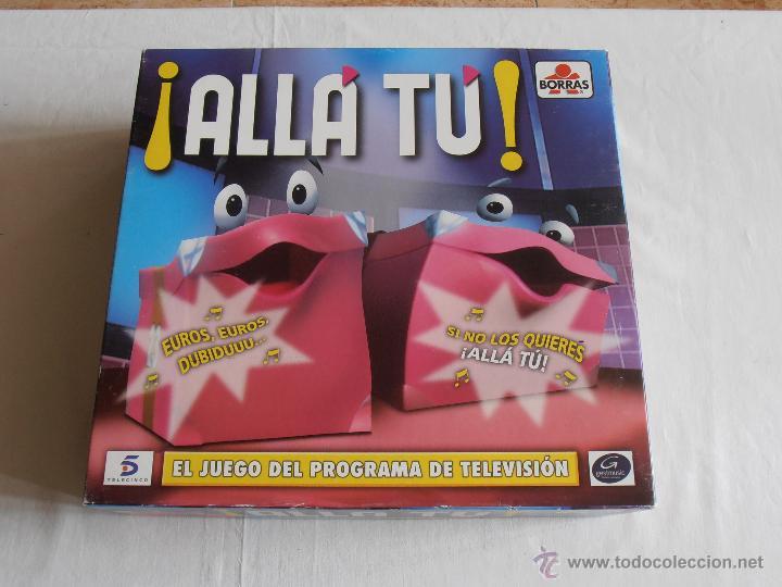 Juegos de mesa: JUEGO ALLA TU BORRAS BASADO EN EL PROGRAMA DE TV TELECINCO COMPLETO - Foto 6 - 54636009