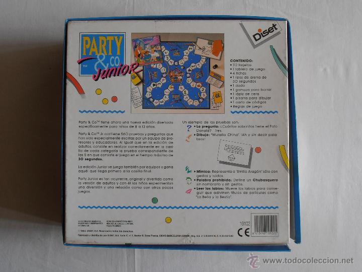 Juego Party Co Junior Diset Falta Reloj Arena Comprar Juegos De