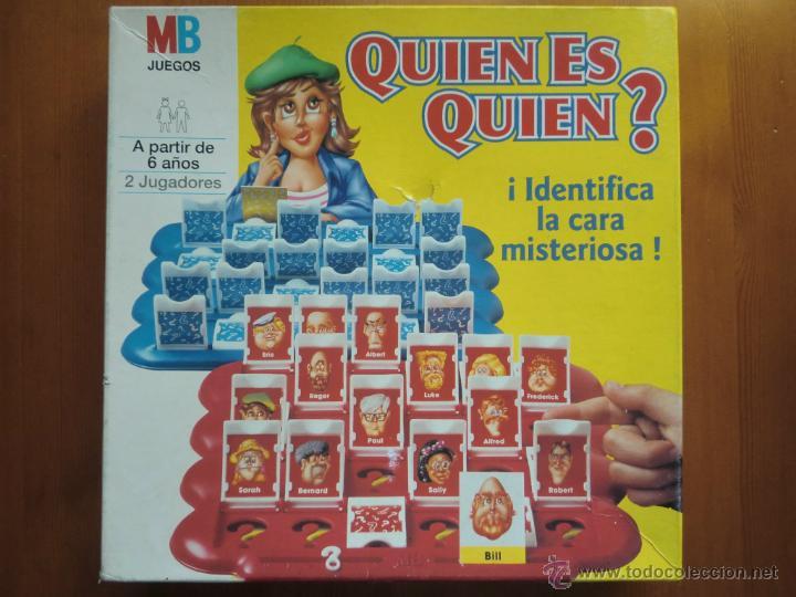 Juego De Mesa Quien Es Quien 1996 De Mb Jue Comprar Juegos De