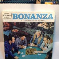 Juegos de mesa: JUEGO BONANZA DE BORRAS AÑOS 60/70. Lote 43284492