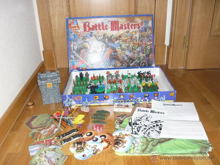 Espctacular Juego De Mesa Mb Battle Masters Rol Comprar Juegos De