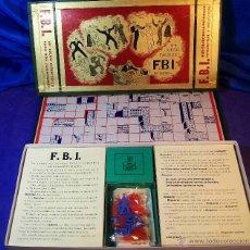 Juegos de mesa: IMPRESIONANTE JUEGO DEL FBI DE LA CASA CRONE ESPAÑA AÑOS 1950 APROX . Lote 43482909