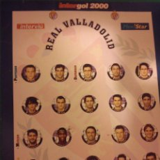 Juegos de mesa: FUTBOLIN INTERGOL. REAL VALLADOLID. COMPLETO. Lote 43492896