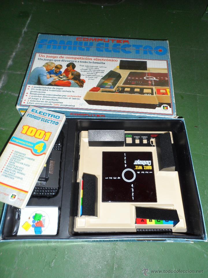 Juego Electro Computer Family De Diset Anos 80 Comprar Juegos De