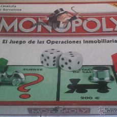 Jeux de table: JUEGO MESA MONOPOLY - EDICION CATALUNYA - HASBRO 2003 - FALTA HOJA INSTRUCCIONES -. Lote 43539543