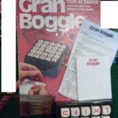 Juegos de mesa: GRAN BOGGLE JUEGO AÑOS 80 --. Lote 43568230