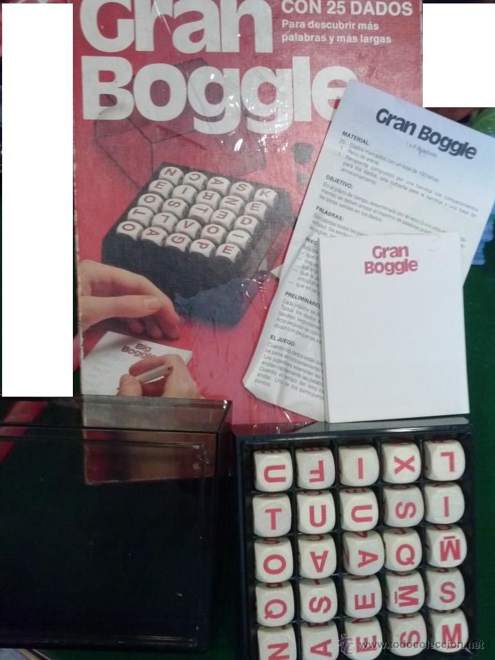 Juegos de mesa: GRAN BOGGLE JUEGO AÑOS 80 -- - Foto 2 - 43568230
