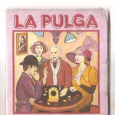 Juegos de mesa: LA PULGA – MUNDI-JUEGOS – JUEGOS DE TODO EL MUNDO – OBSEQUIO DE CEREALES NESTLÉ - PRECINTADO. Lote 43746353