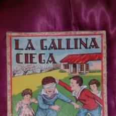Juegos de mesa: JUEGO LA GALLINA CIEGA (CAJA + TABLERO + INSTRUCCIONES + DADO + FICHAS). Lote 43766360
