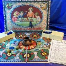Juegos de mesa: ANTIGUO JUEGO DE EL PUCHERIN ESPAÑA AÑOS 1900 APROX JUEGO DE MESA AGAPITO BORRAS. Lote 43773459