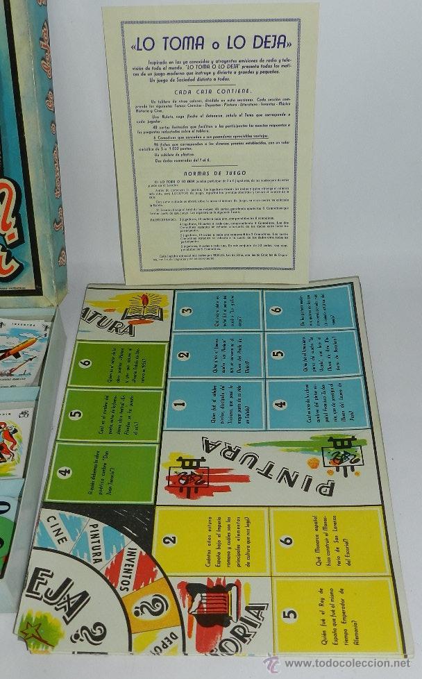 Juegos de mesa: JUEGO DE MESA LO TOMA, O LO DEJA, DE JUGUETES BORRAS, TIENE TODAS SUS CARTAS Y COMODINES, CUBILETE Y - Foto 3 - 43779430