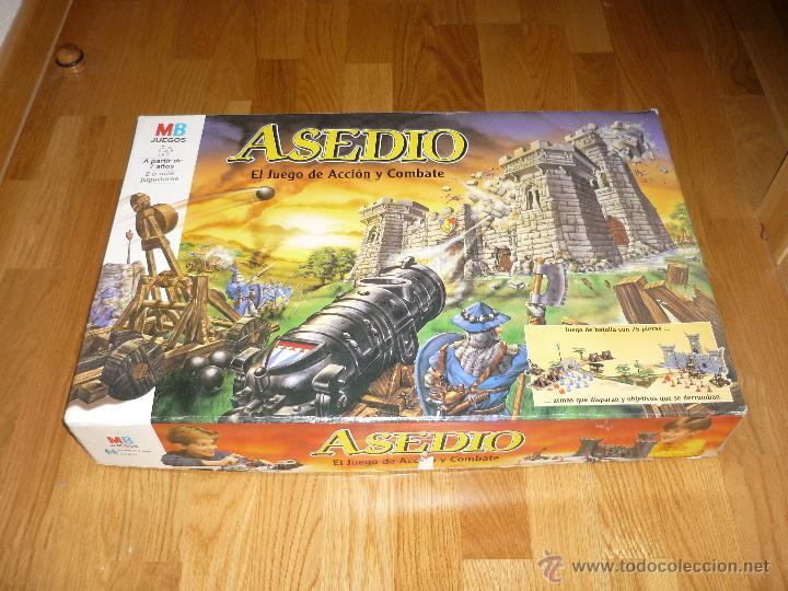 Juego El Asedio Castillo Medieval Soldados Acci Comprar Juegos De