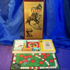 Juegos de mesa: JUEGO DE MESA SAFARI DE FRANCISCO ROSELLO ESPAÑA AÑOS 1960 . Lote 43911866