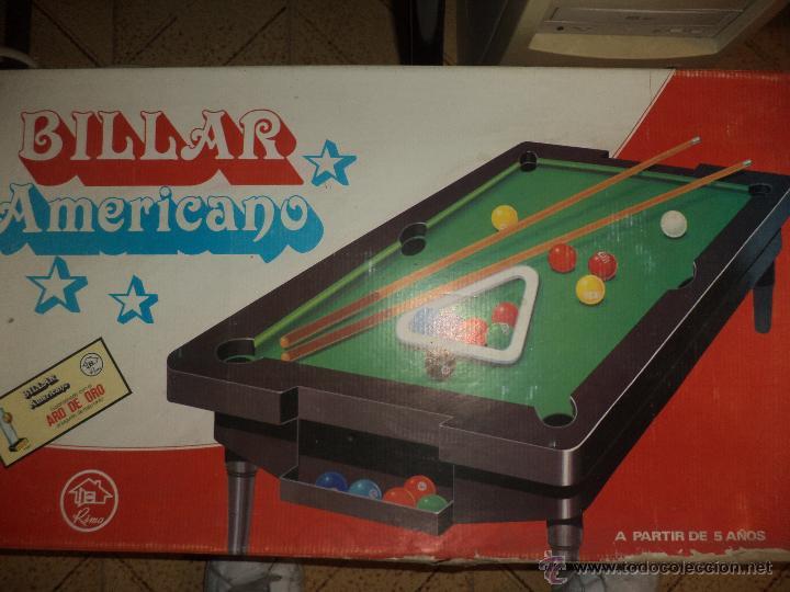 RIMA - BILLAR AMERICANO (Juguetes - Juegos - Juegos de Mesa)