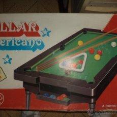 Juegos de mesa: RIMA - BILLAR AMERICANO. Lote 43918134