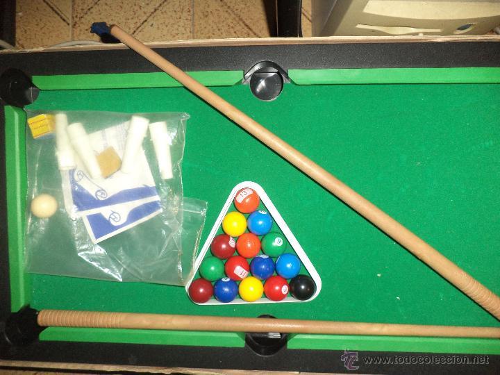 Juegos de mesa: Rima - Billar Americano - Foto 2 - 43918134