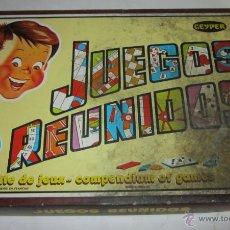Juegos de mesa: JUEGO DE MESA. JUEGOS REUNIDOS 10, DE GEYPER, EN CAJA. ( GA-32 ) CC. Lote 44051013