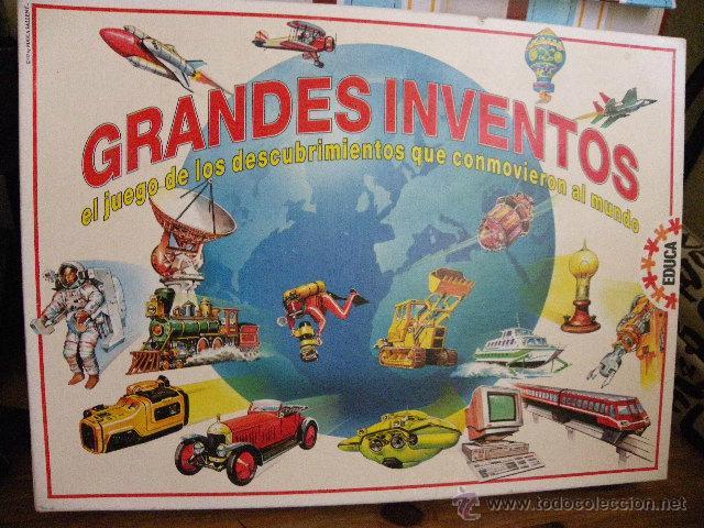 Grandes Invetos Juego De Los Descubrimientos Q Comprar Juegos De