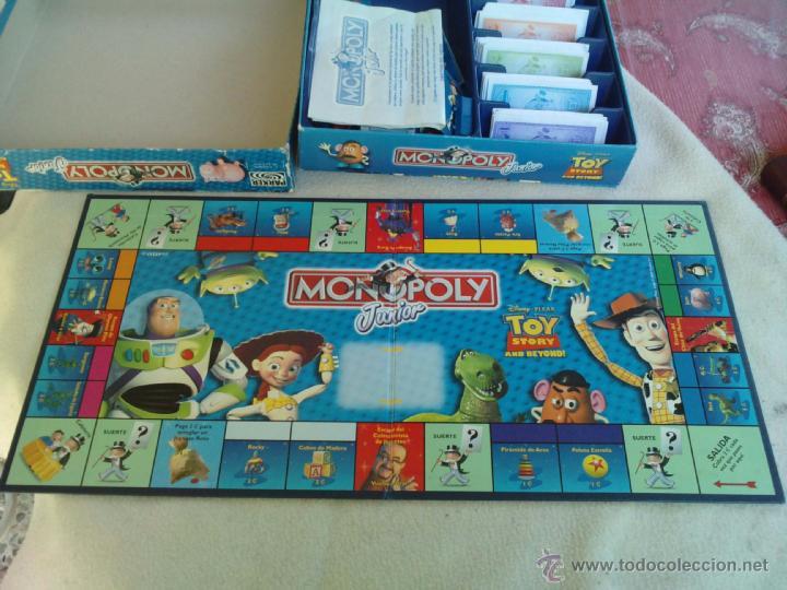 Monopoly Junior Disney Toy Story And Beyond Comprar Juegos De