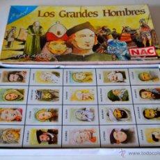 Juegos de mesa: JUEGO LOS GRANDES HOMBRES DE NAC * NIKE AND COOPER. Lote 44160332