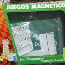 Juegos de mesa: JUEGO MAGNETICO DOMINO CHICOS COLECCIONABLES. Lote 44196134