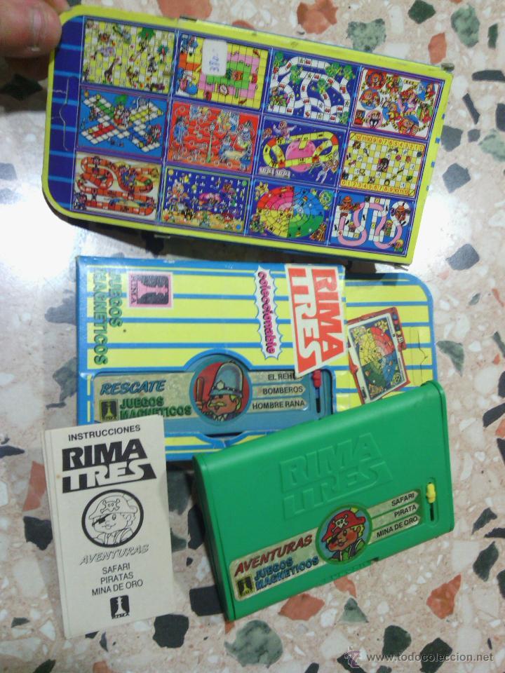 2 JUEGOS RIMA TRES (Juguetes - Juegos - Juegos de Mesa)