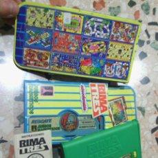 Juegos de mesa: 2 JUEGOS RIMA TRES. Lote 44196226