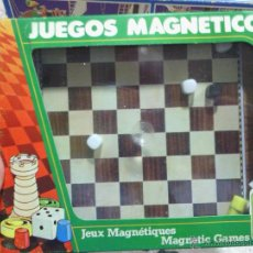 Juegos de mesa: JUEGO MAGNETICO AJEDREZ CHICOS COLECCIONABLES. Lote 44196290