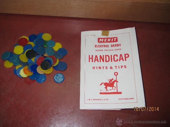 Juegos de mesa: Antiguo Juego Carreras de Caballos con Apuestas 5 Jugadores DERBY Electrico de MERIT - Año 1964 - Foto 5 - 44273370