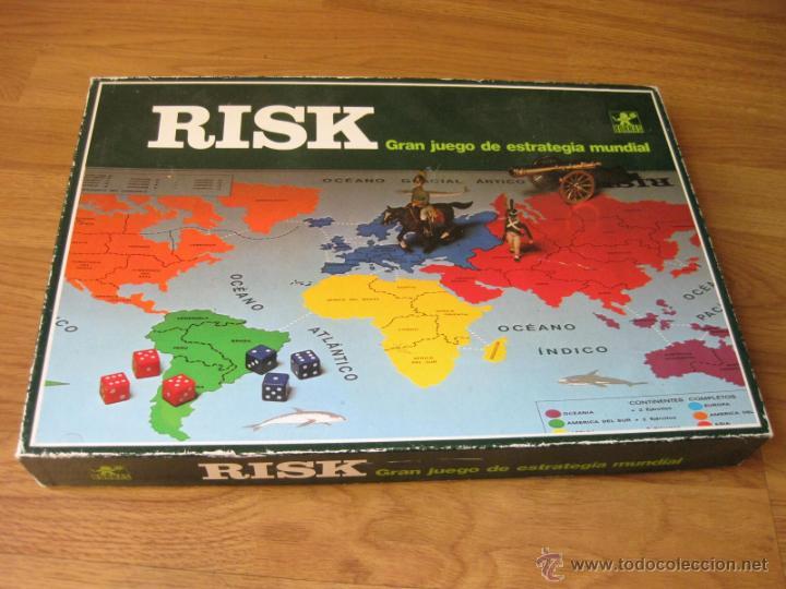 Juego De Mesa De Estrategia Risk De Borras Re Comprar Juegos De