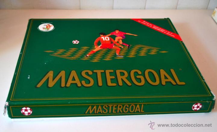 JUEGO DE MESA MASTERGOAL * JUEGO ESTRATEGIA DE FUTBOL * AÑO 1992 (Juguetes - Juegos - Juegos de Mesa)
