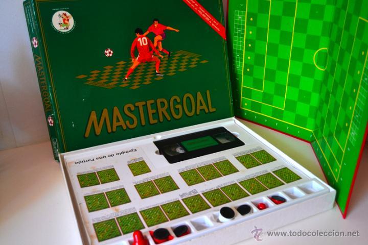 Juegos de mesa: JUEGO DE MESA MASTERGOAL * JUEGO ESTRATEGIA DE FUTBOL * AÑO 1992 - Foto 2 - 44375015