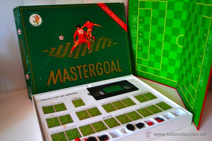 Juegos de mesa: JUEGO DE MESA MASTERGOAL * JUEGO ESTRATEGIA DE FUTBOL * AÑO 1992 - Foto 3 - 44375015
